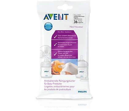 Nettoyage efficace des produits de puériculture où que vous soyez