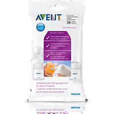SCF295/36 - Philips Avent  Антибактериальные салфетки для детских изделий