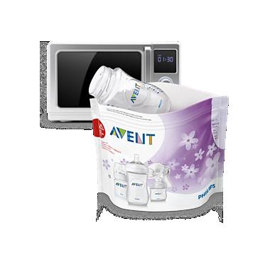 Avent Microwave steam steriliser bags