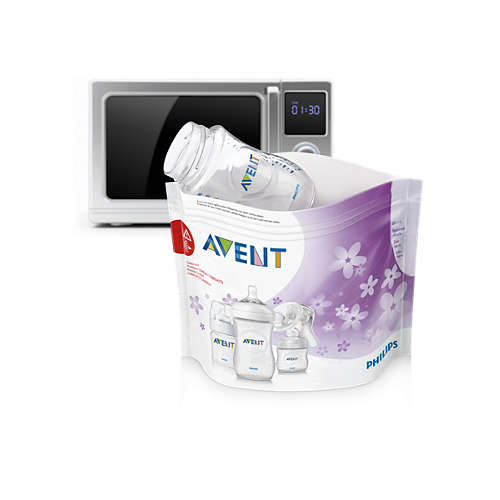 Avent Microwave steam sterilizer bags