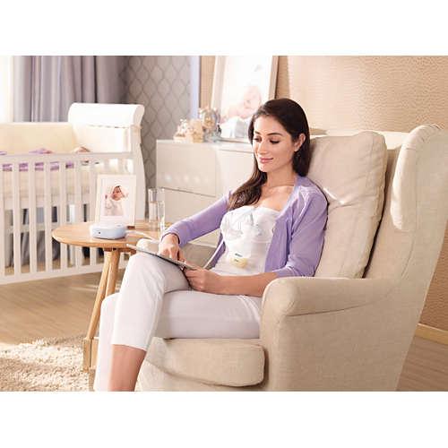Avent Pompă de sân electrică simplă Easy Comfort