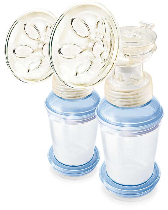 실제 모유 수유 방법으로부터 영감을 받은 설계
