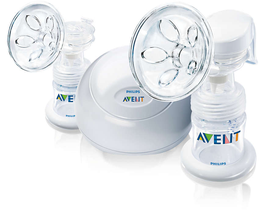Breast pump designed for comfort