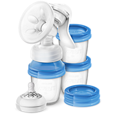 SCF330/13 - Philips Avent  Manual breast pump with 3 cups