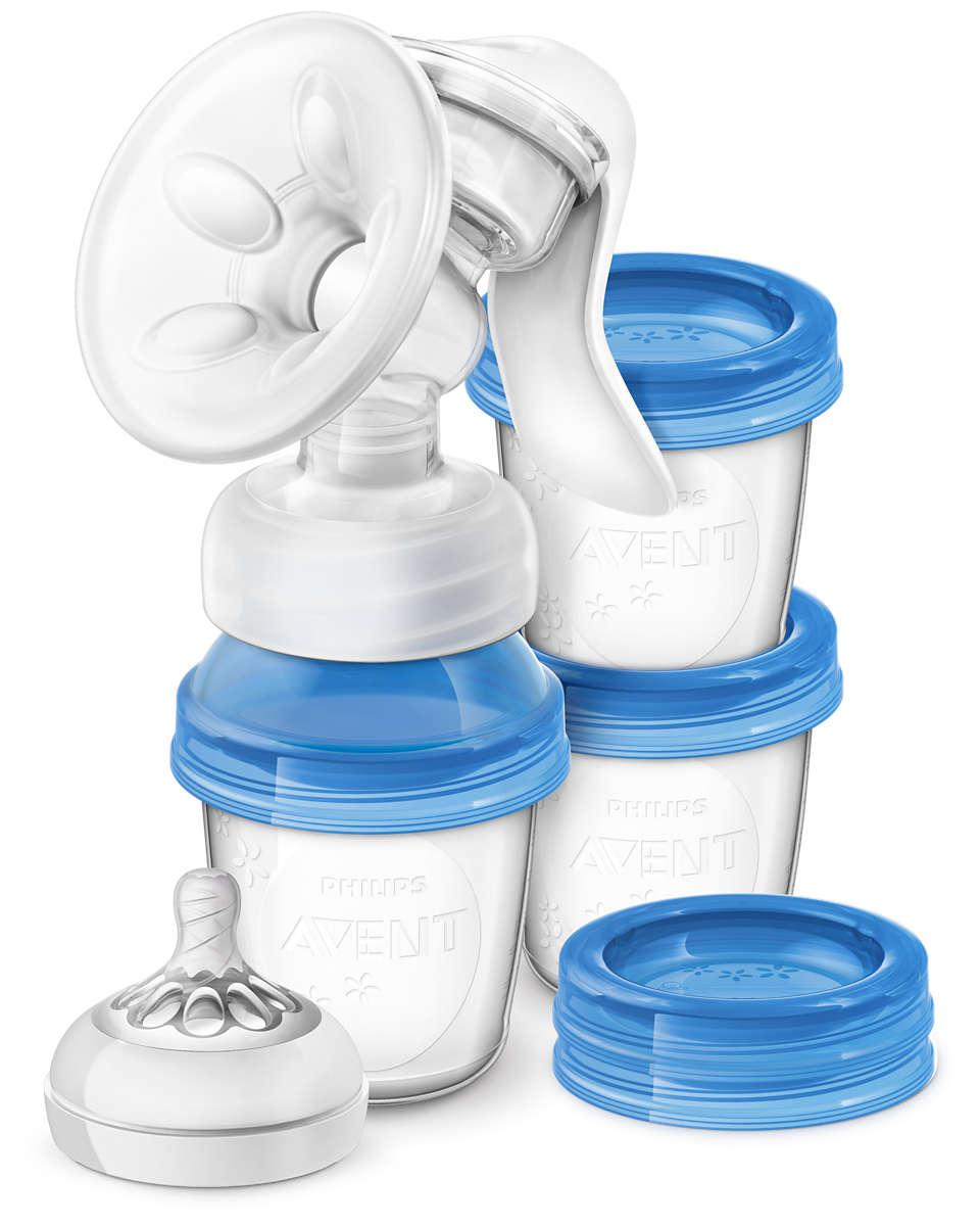 Meer comfort en meer melk — makkelijk voor onderweg*