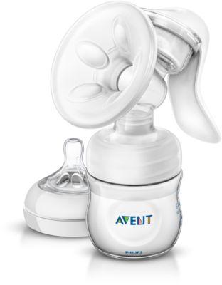 Bild von Avent Handmilchpumpe mit Flasche SCF330/20
