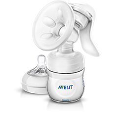 SCF330/20 - Philips Avent  Manual breast pump with bottle