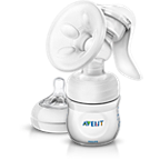 Avent Extractor de leche manual con mamadera