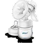 Avent เครื่องปั๊มน้ำนมด้วยมือพร้อมขวดนม