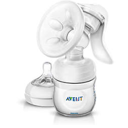 Avent 配備奶瓶的手動吸乳器