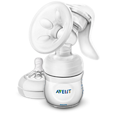 SCF330/30 - Philips Avent  Manual breast pump with bottle