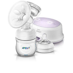 Natural Comfort Single electric breast pump