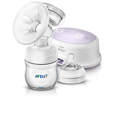 SCF332/01 - Philips Avent  Bomba tira leite eléctrica individual conforto