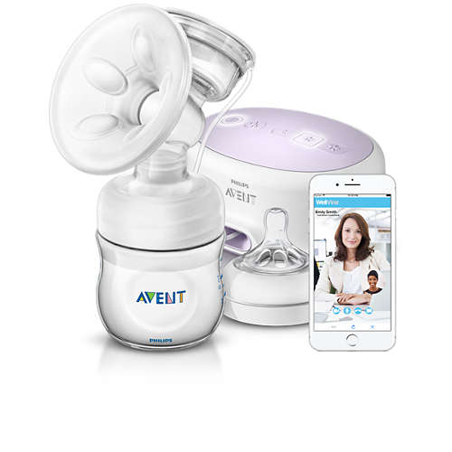 Avent Single Electric Breast Pump with Aftercare Support