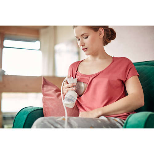 Avent Single Electric Breast Pump with support