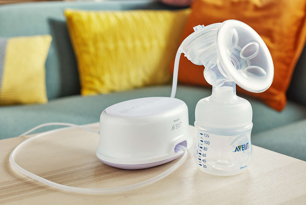 Single Electric Breast Pump Scf332 21 Avent
