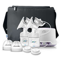 Natural Comfort Double electric breast pump