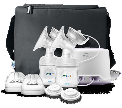 Extractor leche doble Avent Comfort eléctrico materna SCF33402 de rAaCwqxr