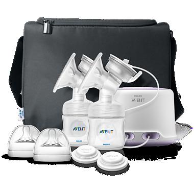Avent Подвійний комфортний електричний молоковідсмоктувач