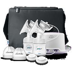 SCF334/02 - Philips Avent  Máy hút sữa bằng điện, 2 bình sữa