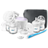 Avent Double breast pump, bottle & brush set