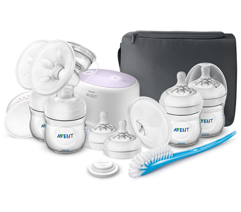 Philips Double Electric Breast Pump with Accessories