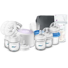 SCF334/26 Philips Avent Double Electric Breastfeeding set