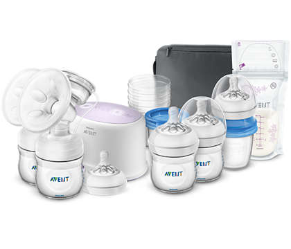More milk in less time* Breastfeeding made easy