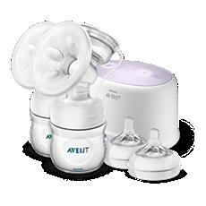SCF334/31 Philips Avent Dvojitá elektrická odsávačka mateřského mléka