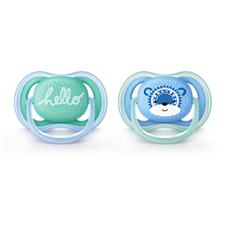 SCF342/22 Philips Avent ultra air pacifier 6-18m, 2 pack