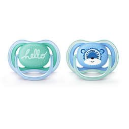 Avent ultra air pacifier 6-18m, 2 pack