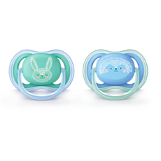 SCF344/22 Philips Avent ultra air pacifier 6-18m, 2 pack