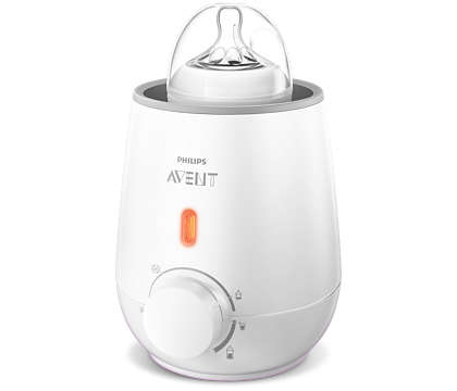Our fastest electric bottle warmer