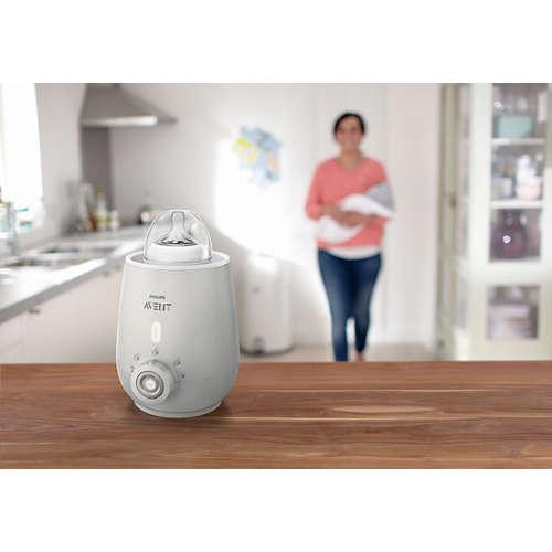 Avent Flessenwarmer die voedingsstoffen behoudt
