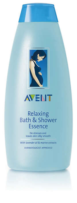 De-stresses and leaves skin silky smooth