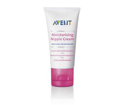 Moisturizes and softens skin