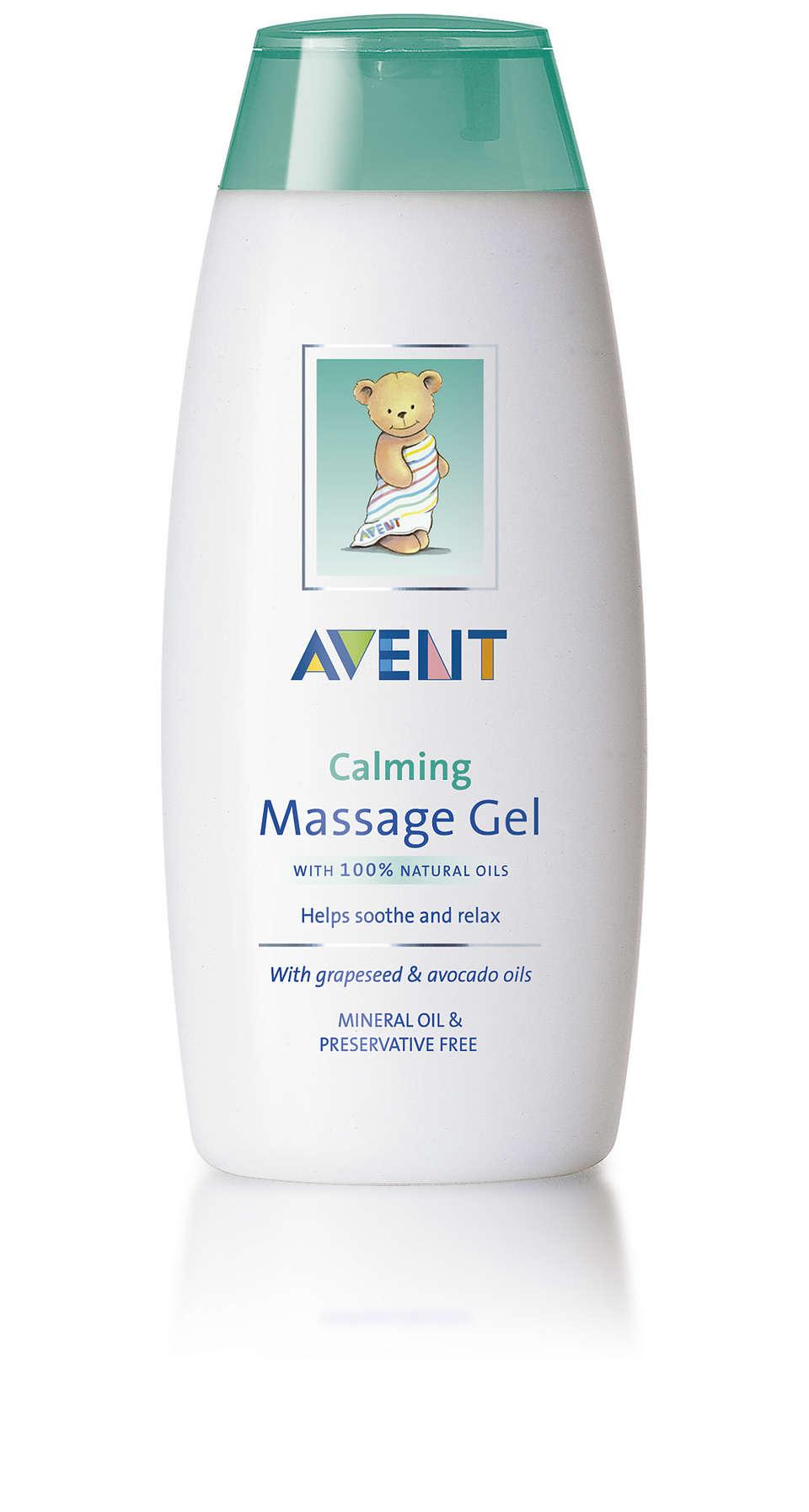 Calms, moisturises, helps soothe to sleep