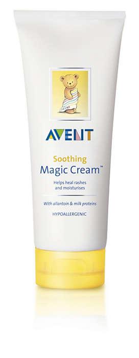 Hidratál és segít a bőr kipirosodásának megszüntetésében