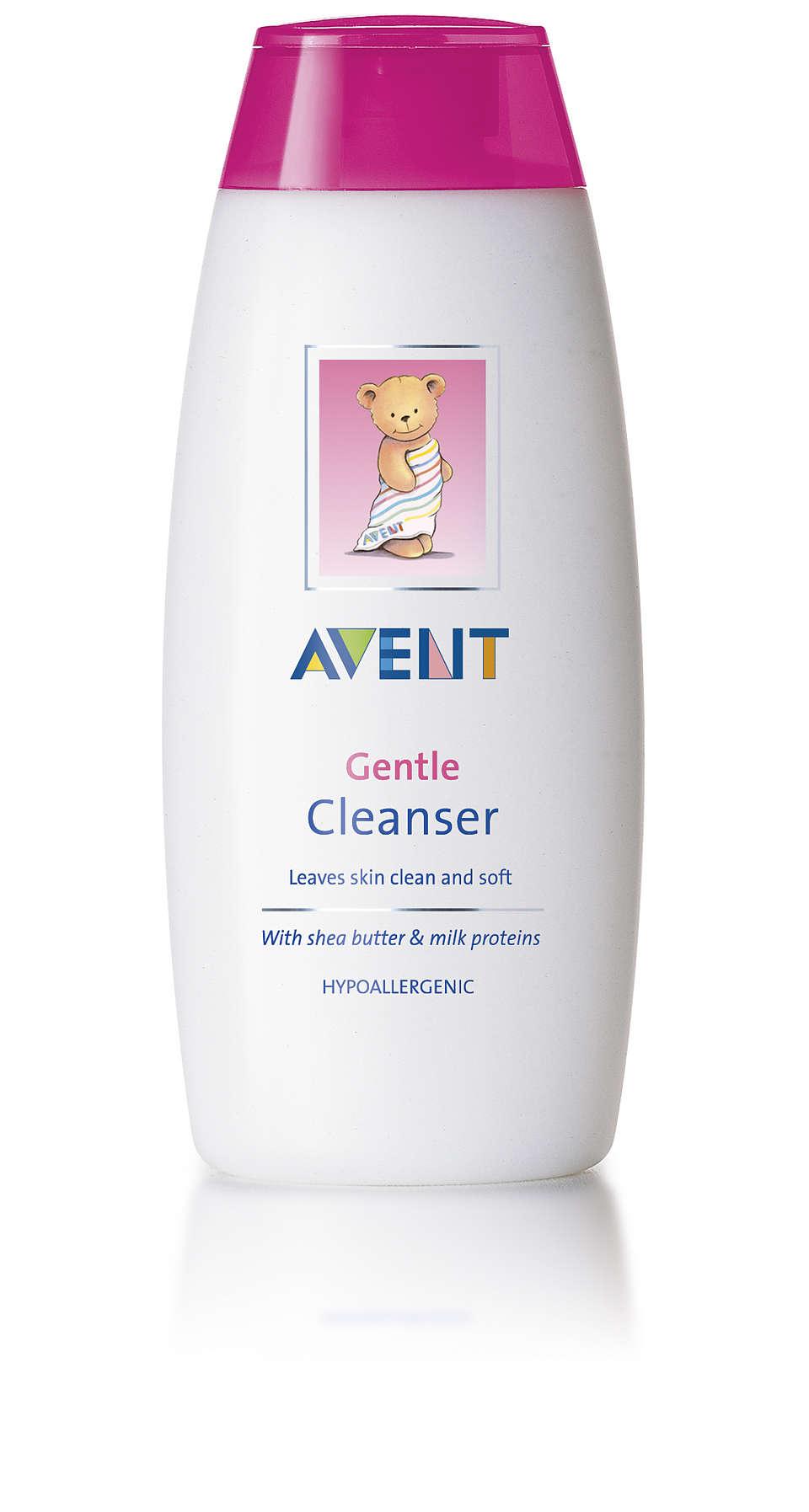 帶給您清潔柔嫩的皮膚