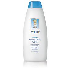 SCF513/40 Avent Υγρό καθαρισμού μαλλιών και σώματος για μωρά Avent