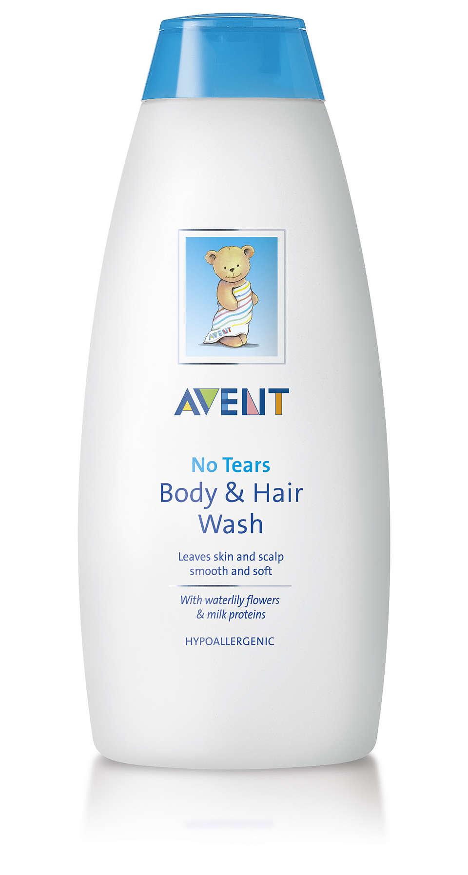 Deja la piel y el cuero cabelludo más suaves y tersos