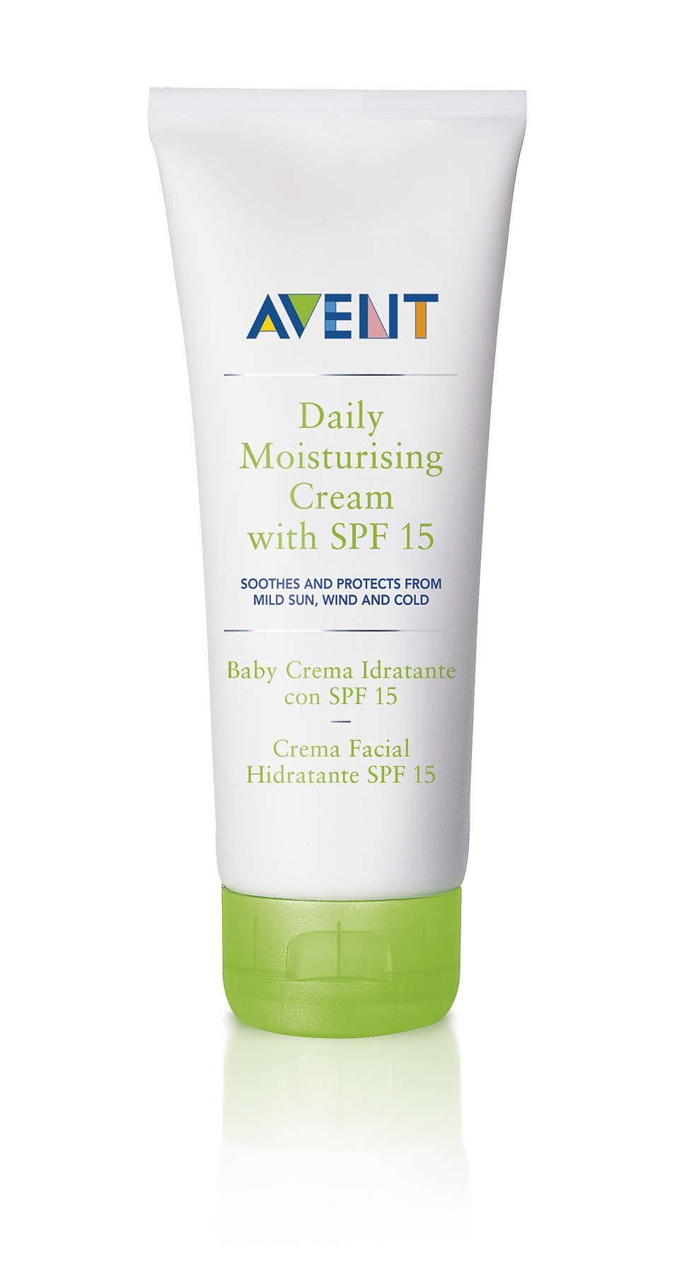 舒緩肌膚並隔離日曬、風吹與低溫