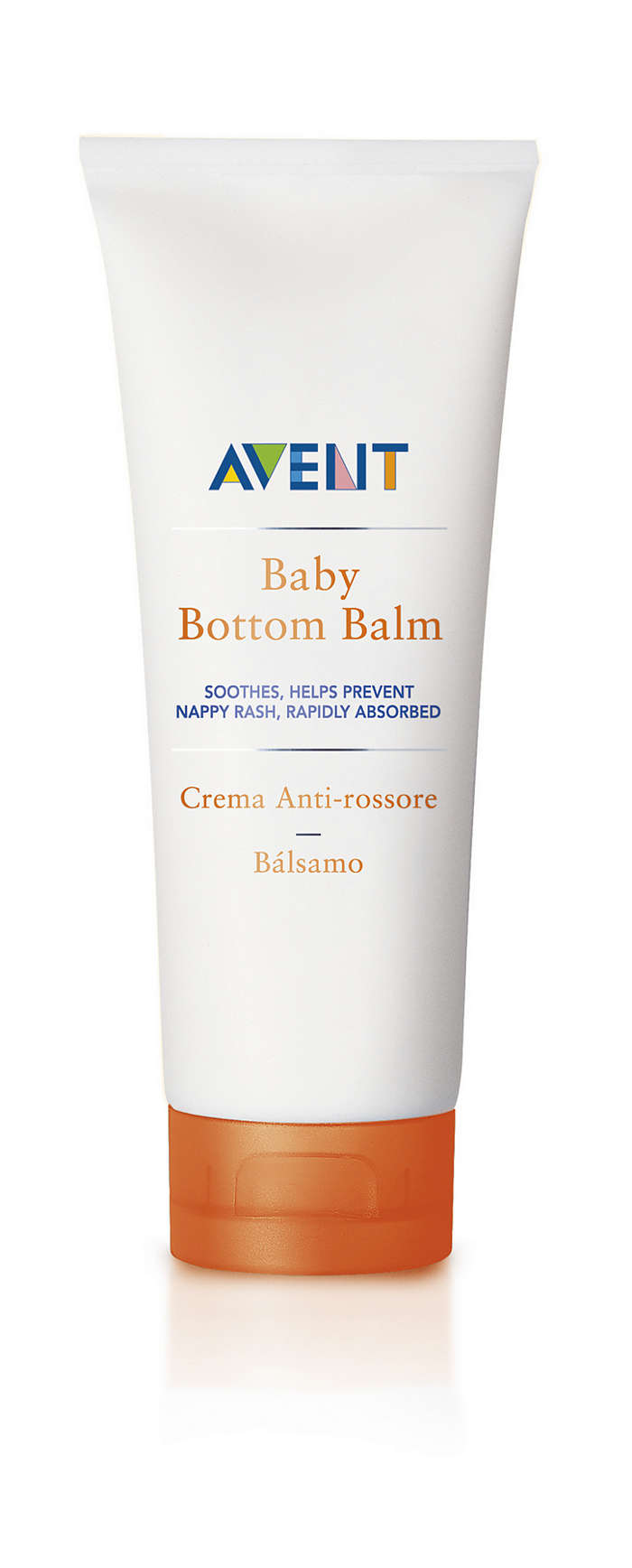 Soothes, helps prevent nappy rash, rapidly absorbs
