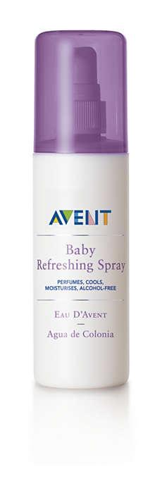 Perfuma, refresca e hidrata