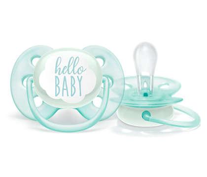 Ultraweicher Schnuller für die empfindliche Haut Ihres Babys