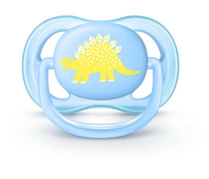 Uma chupeta leve que deixa respirar para peles sensíveis
