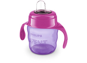 Philips Avent Spout Cup SCF551 03 Easy sip 7oz 200ml 6m girl