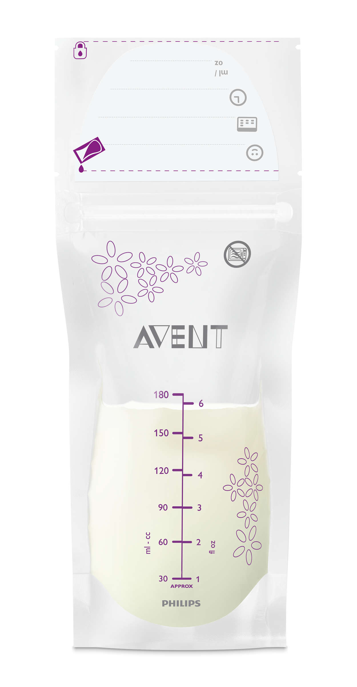 Une protection optimale de votre lait maternel
