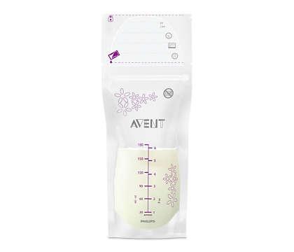 Une protection optimale de votre lait maternel