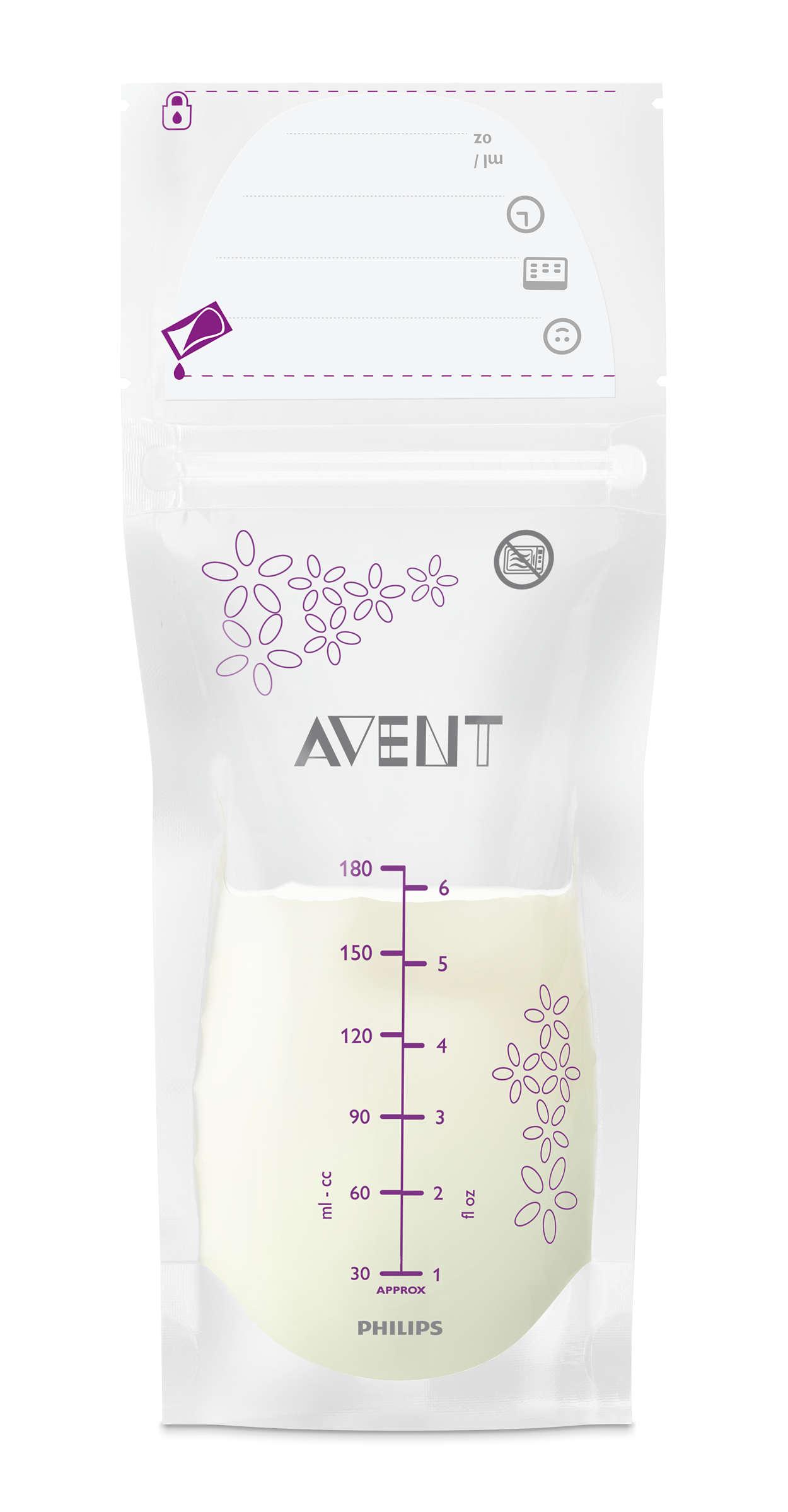 Vislabākā krūts piena uzglabāšana